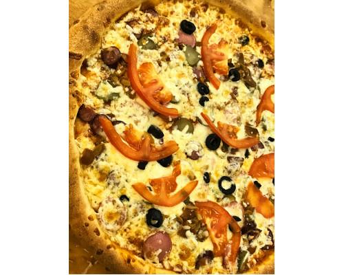 Пицца Охотничья 1/2 30см